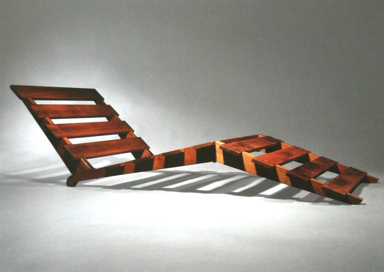 Folding wood chaise longue, 1939  Independent works of Charlotte Perriand