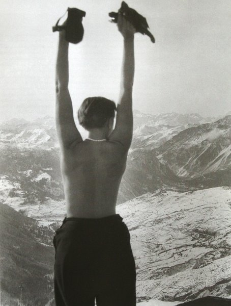 Swiss Alps, 1935  Independent works of Charlotte Perriand