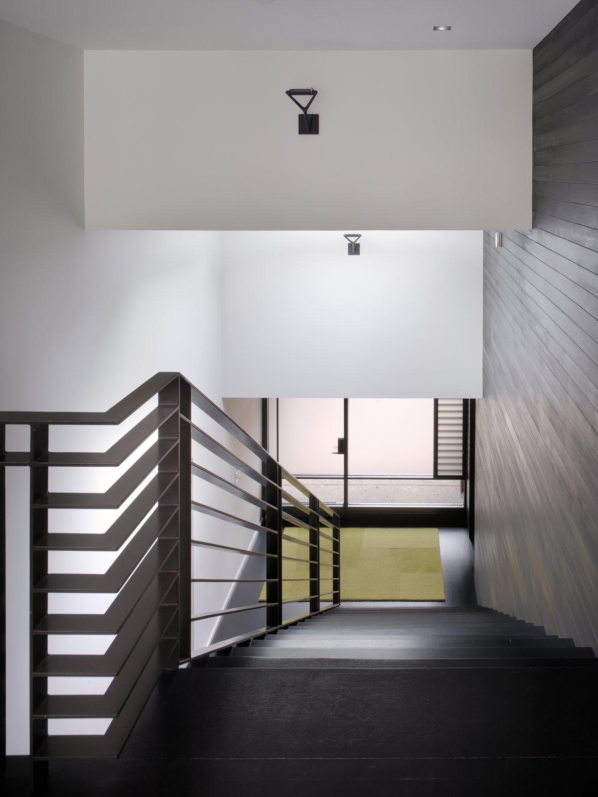 Stair hall  MV House by Chris Deam