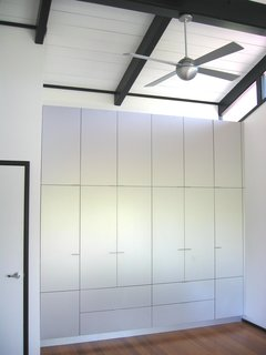 Aluminum Master Bedroom storage