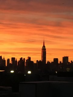 Rooftop Sunset From Williamsburg, Brooklyn
