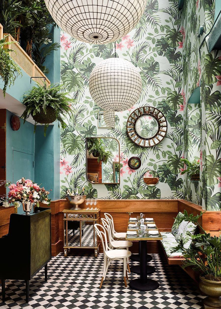 Leo's Oyster Bar in San Francisco designed by Ken Fulk Inc.  Lush Life from Restaurants
