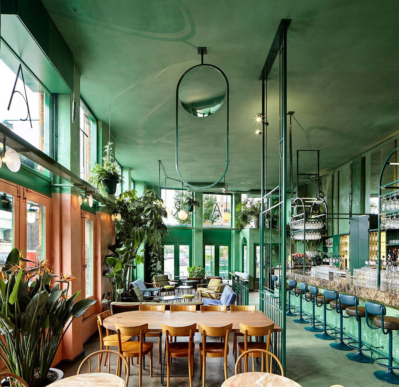 BAR BOTANIQUE IN AMSTERDAM BY STUDIO MODIJEFSKY.  Lush Life from Restaurants