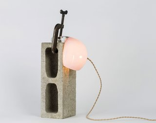Lindsay Adelman : Soft Pink Heavy Light Clamp Collection
