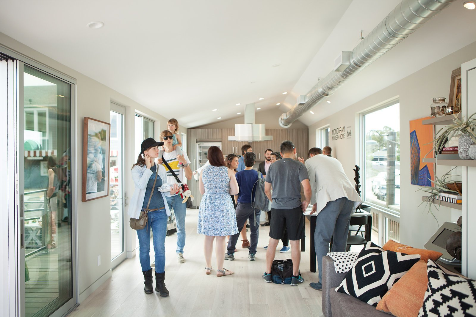 The open house returned for an encore showing on Sunday, June 12th at the Marin Country Mart.  Photo 8 of 9 in Monogram Modern Home Tour Takes On the West Coast