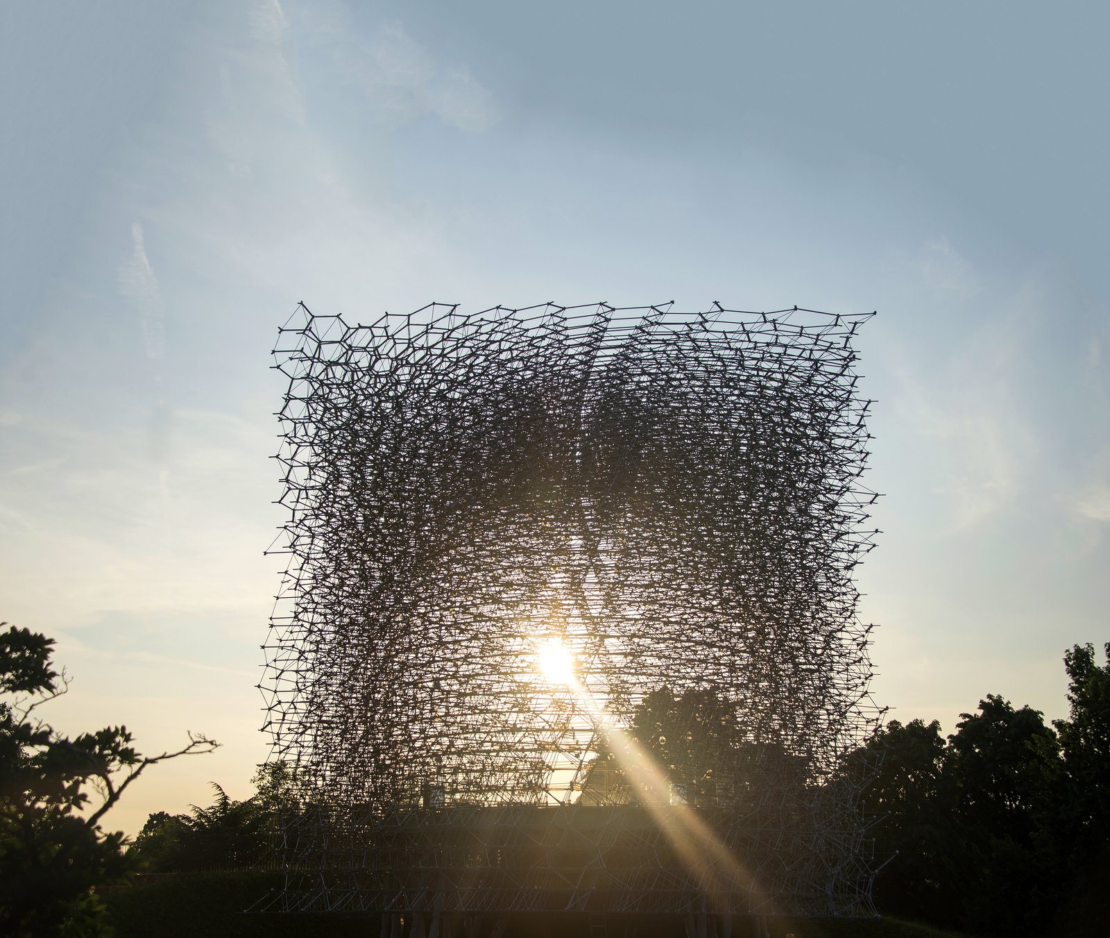 Over 3.3 million visitors poured into the Hive during its tenure at the Milan Expo, making it the most popular British paid attraction across the globe in 2015. It is the first UK pavilion to move to a second venue.  Photo 5 of 5 in This Hive Makes Visitors a Part of the Swarm
