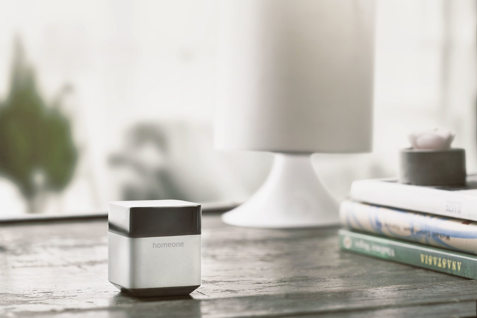 Measuring 1.8 inches high, the BlackBox is similar in size to a ring box and serves as the  Photo 2 of 5 in This Could Be the All-in-One Home Automation System You've Been Looking For