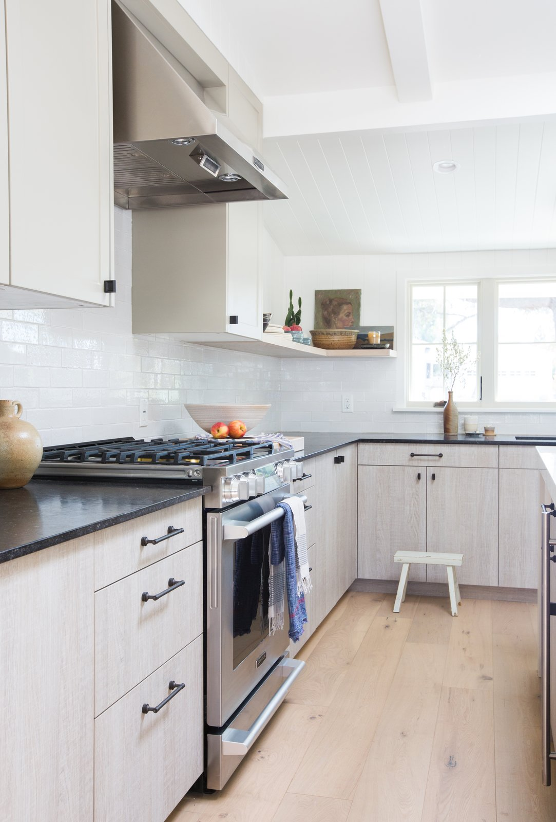 "The appliances have been installed, and the  Kitchen Love from A Sneak Peek Into an Interior Designer's ""No Ordinary Kitchen"" Renovation"