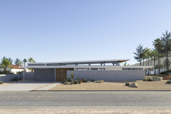An Indoor/Outdoor Prefab Blooms in the Palm Springs Desert