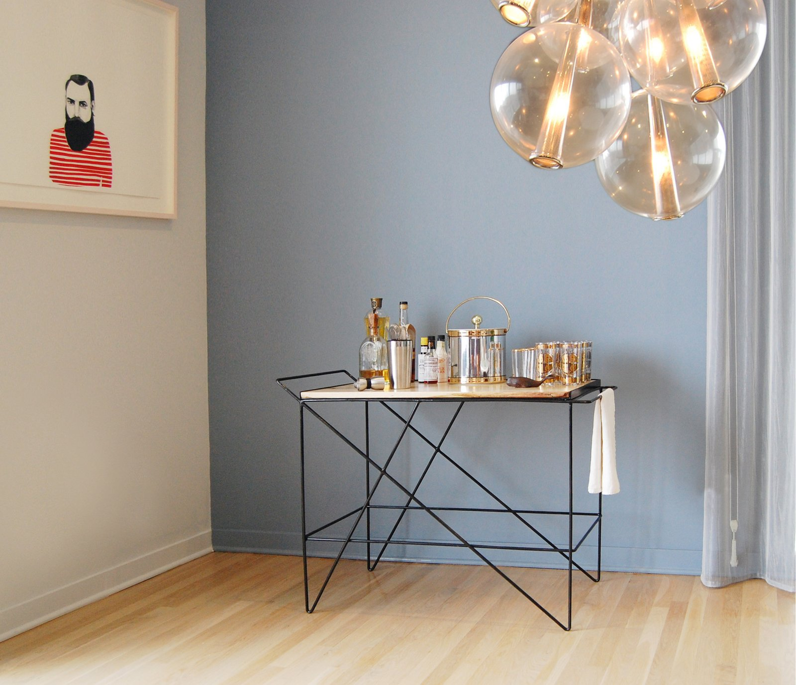 Greta de Parry Coleman Bar Cart, $1,999  Photo 12 of 12 in Gift Guide: 11 Ways to Lift the Cocktail Lover's Spirits