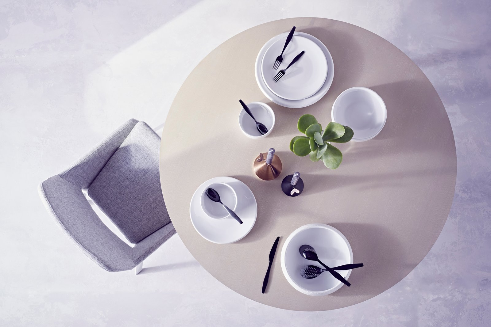 Dine likened the collaborative design process to being in a band with Deam.  Photo 5 of 10 in The Dwell x Target Lookbook Reveals a Sleek New Collection for the Modern Home