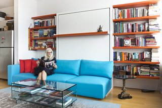"The move has helped the couple pare back on material items. Annette offers some sage advice for homeowners who are looking to do the same: ""There are so many things we accumulate that we don't need. If it doesn't fit now, it's not going to fit any better in a couple of years. If you don't like it now, you're not going to like it any better in a couple of years. Give it to someone else who needs it and who's going to appreciate it."""