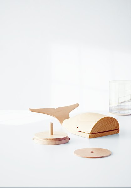 The animal figurines in the collection are both decorative and functional. Deam drew associations with each animal to design their uses—for example, the Whale Coaster Figural is a tribute to the creature's watery habitat.  Best Photos from The Wait Is Over: Modern by Dwell Magazine Arrives at Target