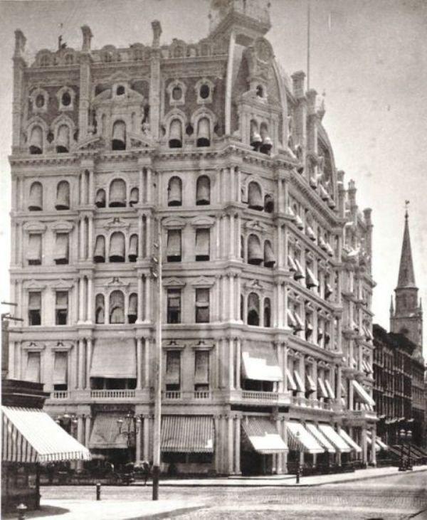 Gilsey House historic photo.