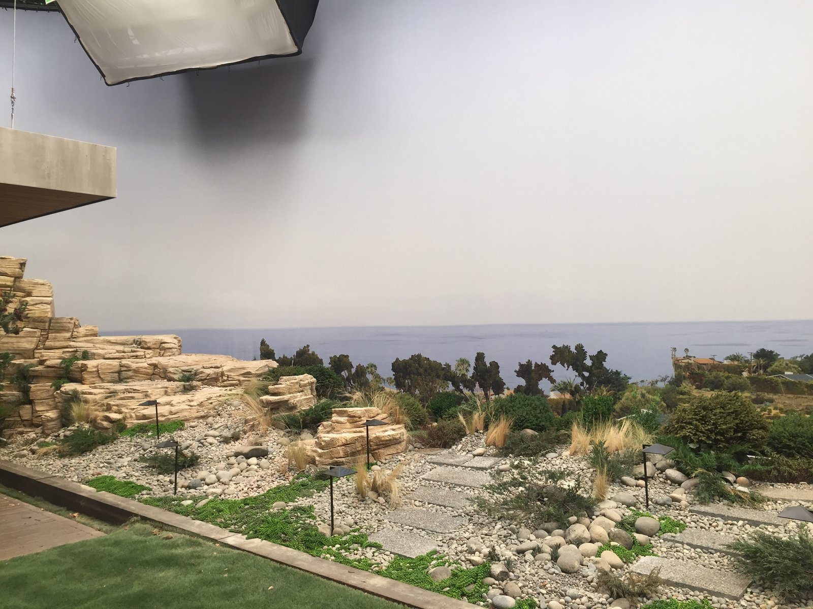 Novotny employed an  Photo 9 of 10 in Here's How Hollywood Builds a Malibu Dream Home—on a Vancouver Soundstage