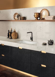 Best 60 Modern Kitchen Stone Slab Backsplashes Design