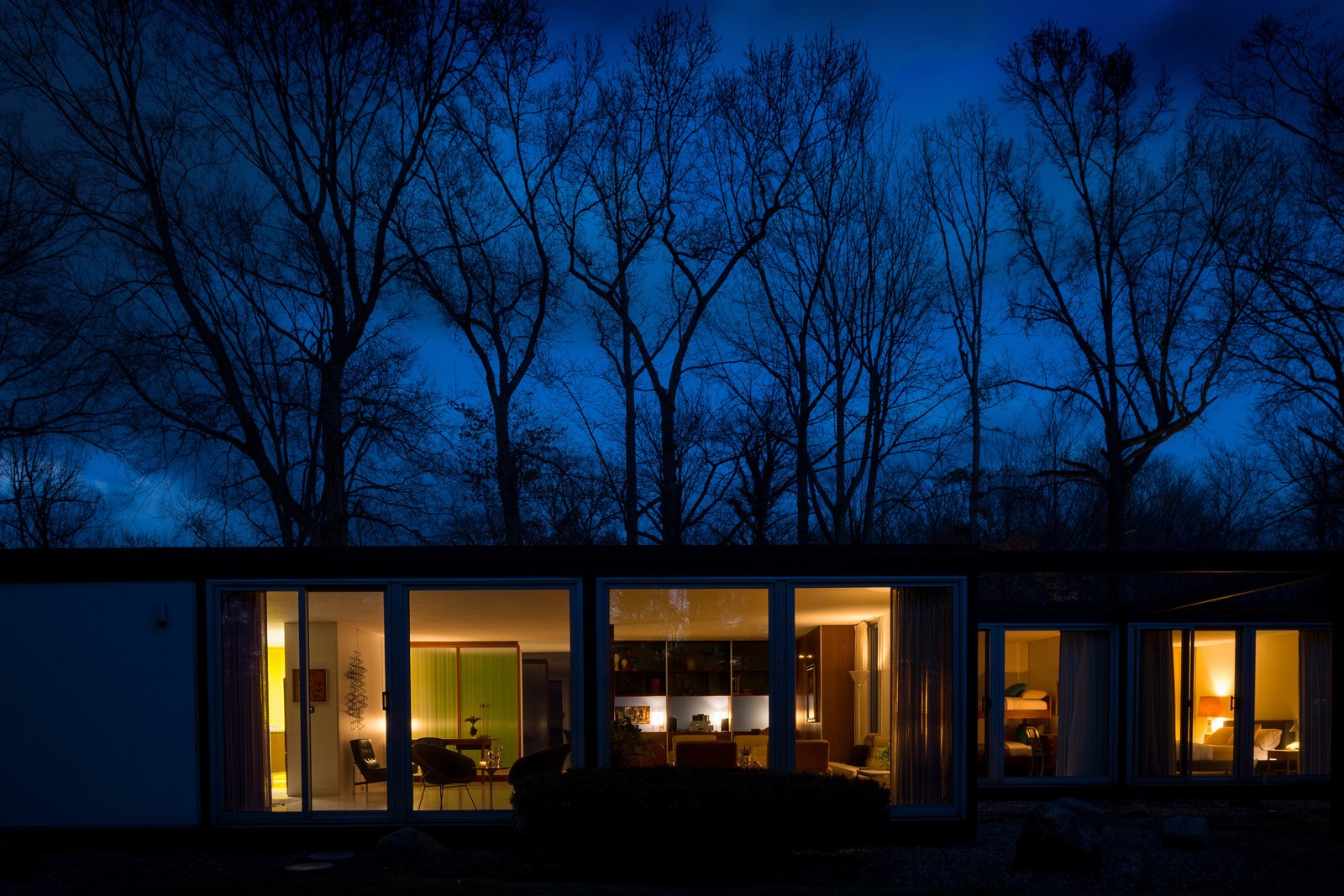 Emil Tessin Frost House midcentury prefab exterior