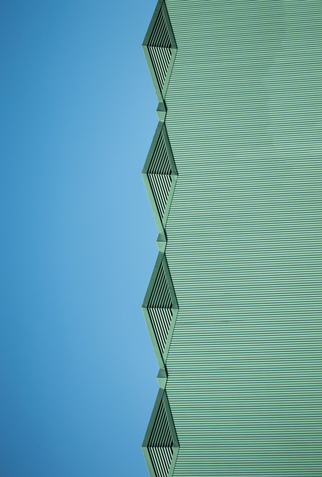 The Blue Green Mile.  Photo 8 of 16 in Nikola Olic's Dizzying Architectural Photography