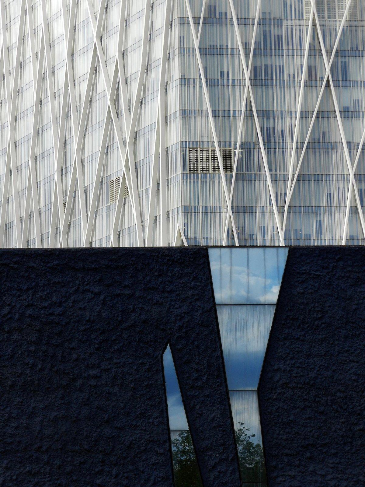 Mirror Facade.  Photo 13 of 16 in Nikola Olic's Dizzying Architectural Photography