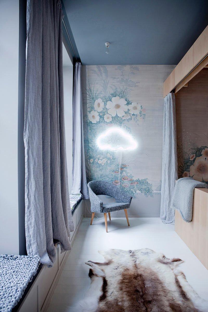 #ChezMarieSixtine #Paris #France #designmilk  Photo by Julie Ansiau  Photo 6 of 11 in 10 Dreamy Parisian Homes from A Modern Parisian Flat Atop a Department Store