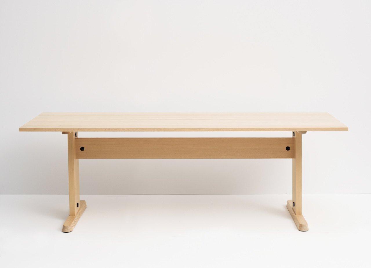 Trestle table by Studio Gorm  Photo 8 of 26 in Furnishing Utopia By Hancock Shaker Village
