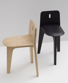 Stove Chair & Domino Coat Rack by Gabriel Tan