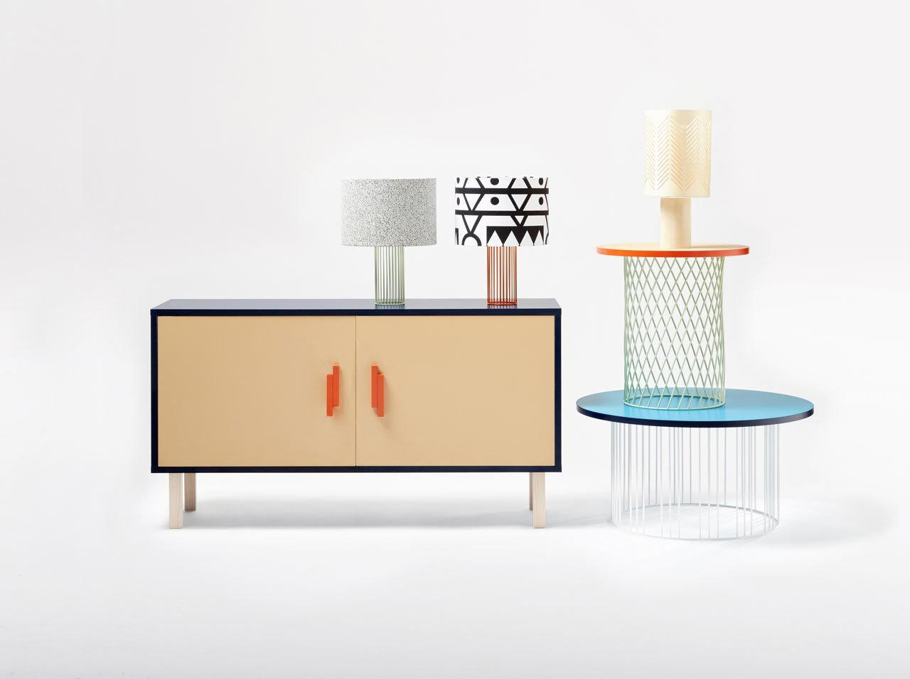 French design brand Colonel just launched its latest collection for 2016 and it includes a series of lamps, coffee tables, and a sideboard, all of which come in several colors and can even be customized.  Photos from The Eclectic 2016 Collection From Colonel