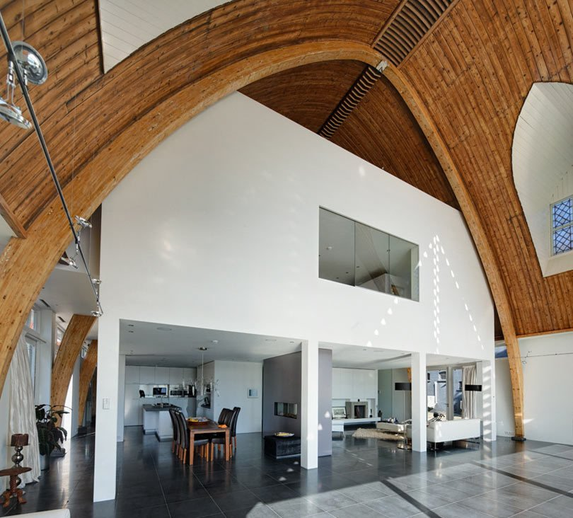 Photo 8 of 10 in Traditional Churches Become Modern Homes - Dwell
