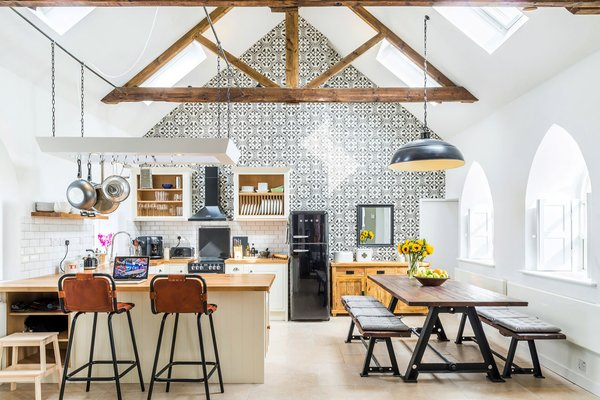 Traditional Churches Become Modern Homes