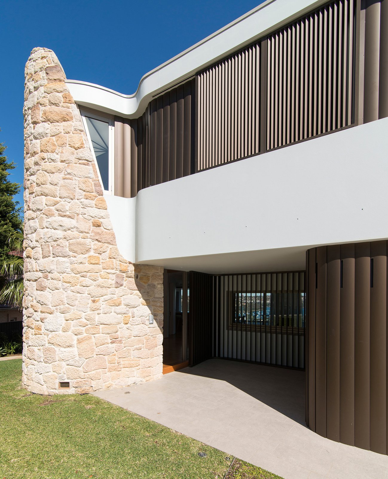 © Edward Birch  Martello Tower Home by Luigi Rosselli Architects