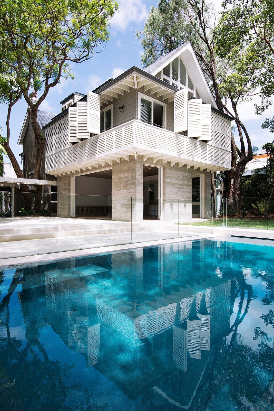 © Edward Birch  Loggia in Arcadia by Luigi Rosselli Architects