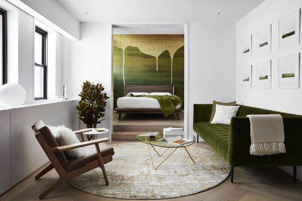 Bedroom Open to Living Room