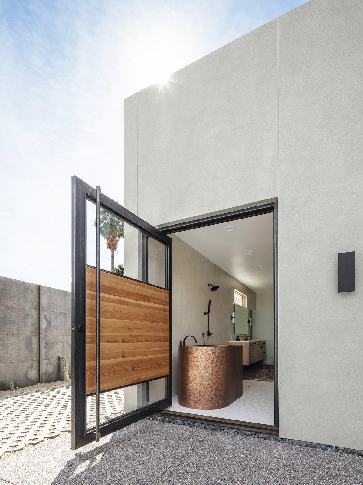Weave house bathroom