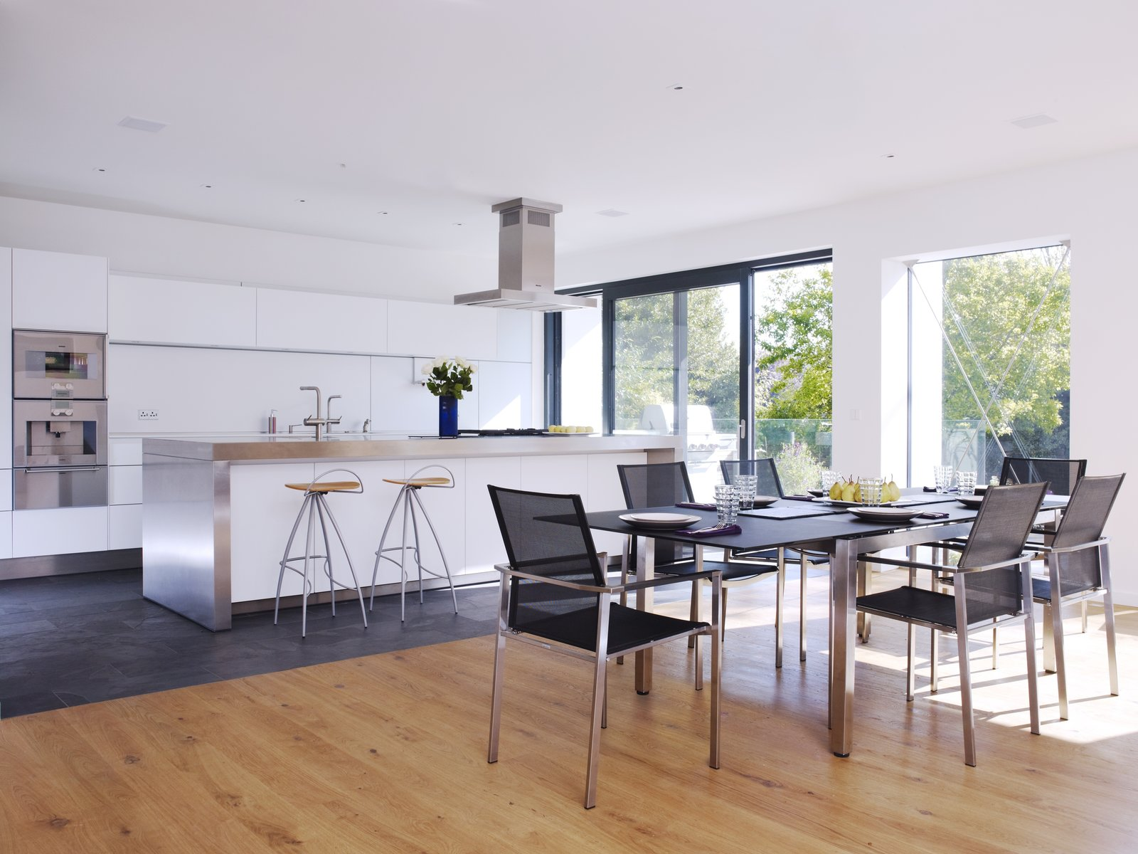Open plan living/dining/kitchen, a frequent element of our designs  Gallery