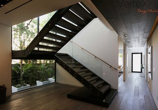 Steel Stair. Industrial Design