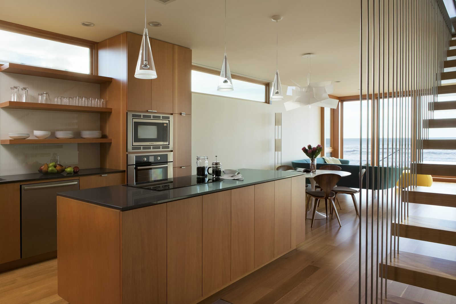 Kitchen  Roads End Beach House by Giulietti / Schouten AIA Architects