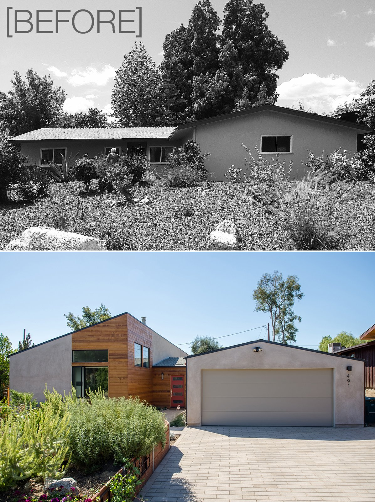 [before + after]  A California Ranch Home, Reimagined by MYD studio, inc.
