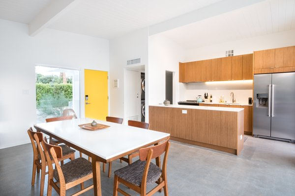 Mid-Century style with modern conveniences.