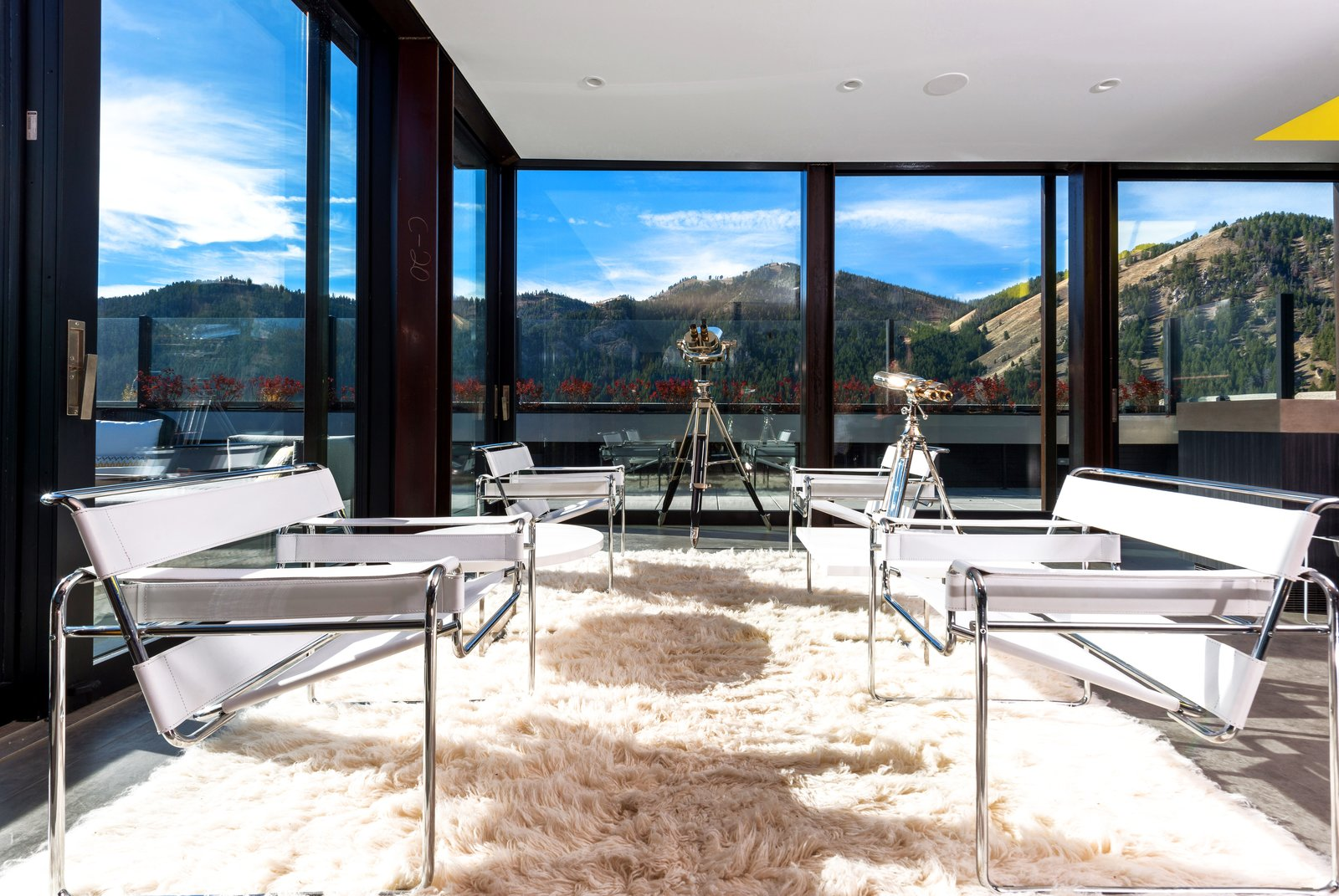Ketchum penthouse living room