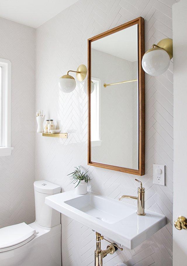 Interior by Sarah Sherman Samuel Designs   Bathroom from AA - Bathroom Ideas
