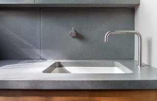 Detail of existing sink