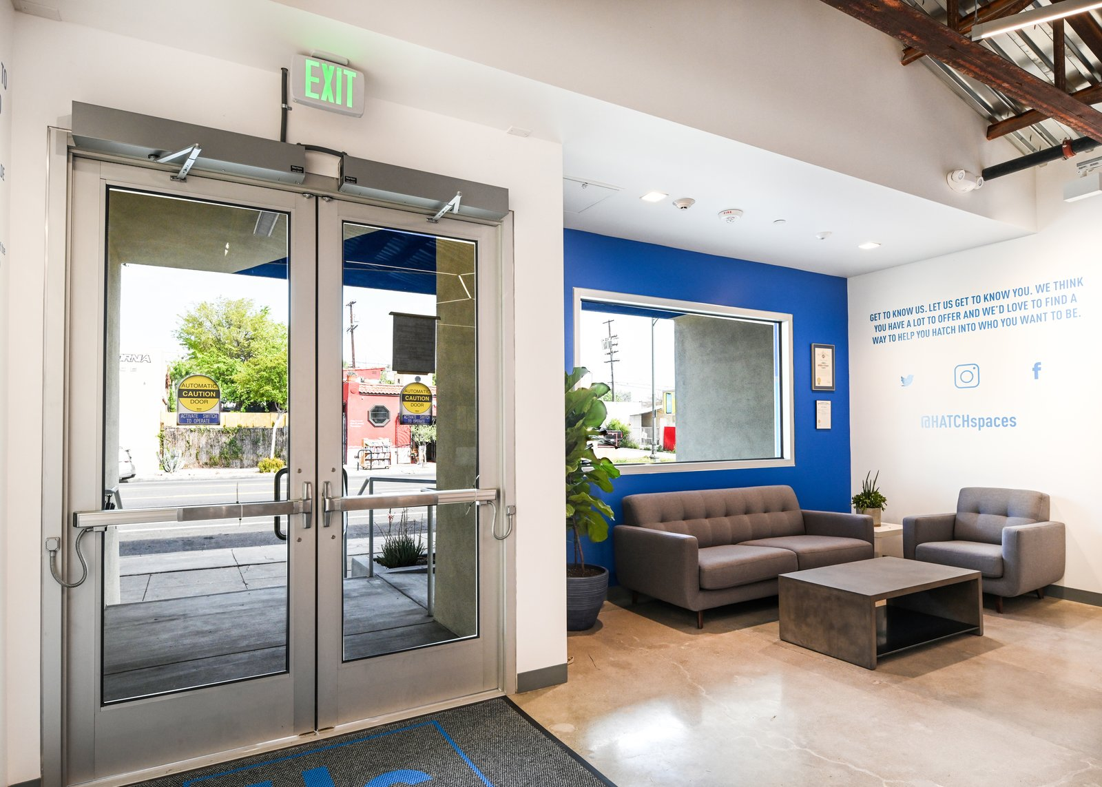 Lobby Entrance - HATCHlabs @LA Bioscience HUB  HATCHlabs @LA Bioscience HUB