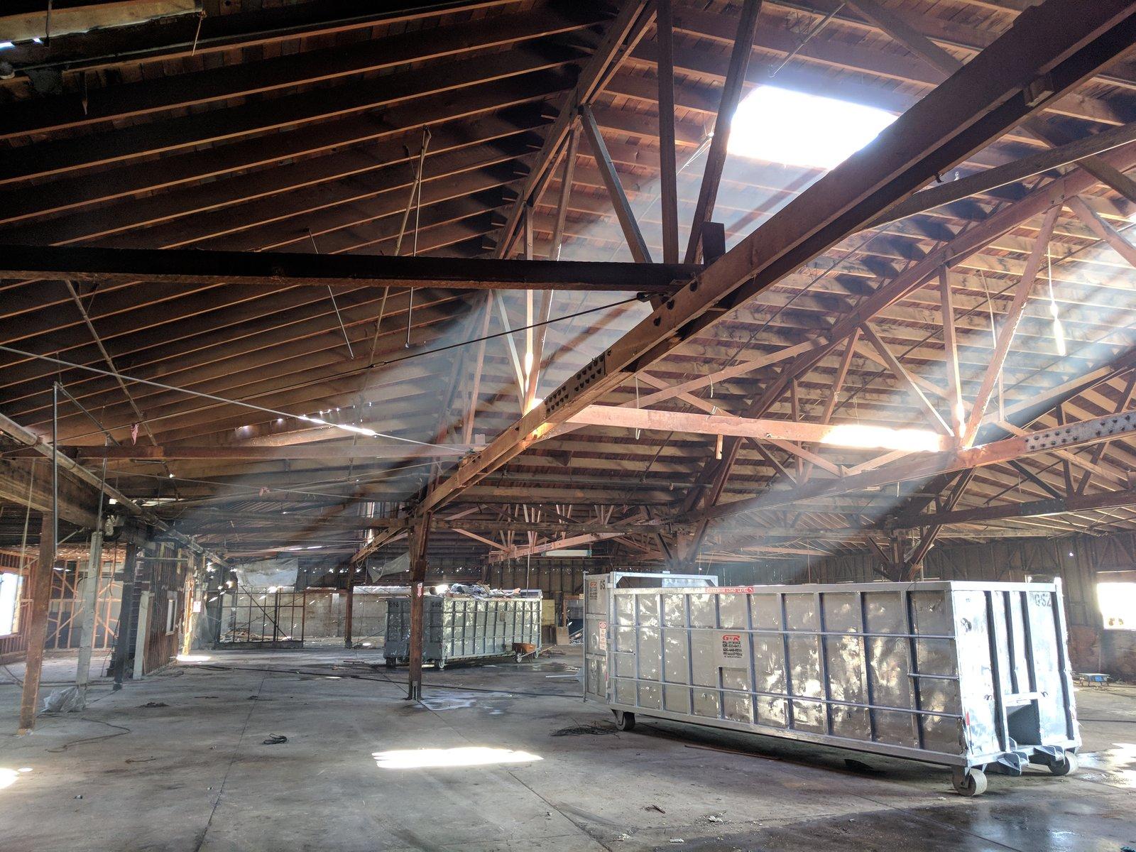 Building Interior Prior to Renovation  HATCHlabs @LA Bioscience HUB