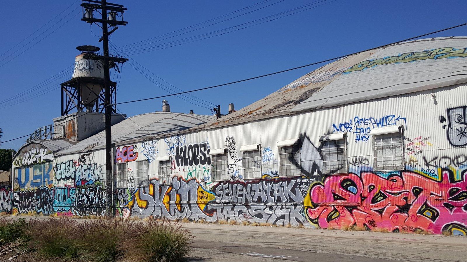Rear Alley Entrance Prior to Renovations  HATCHlabs @LA Bioscience HUB