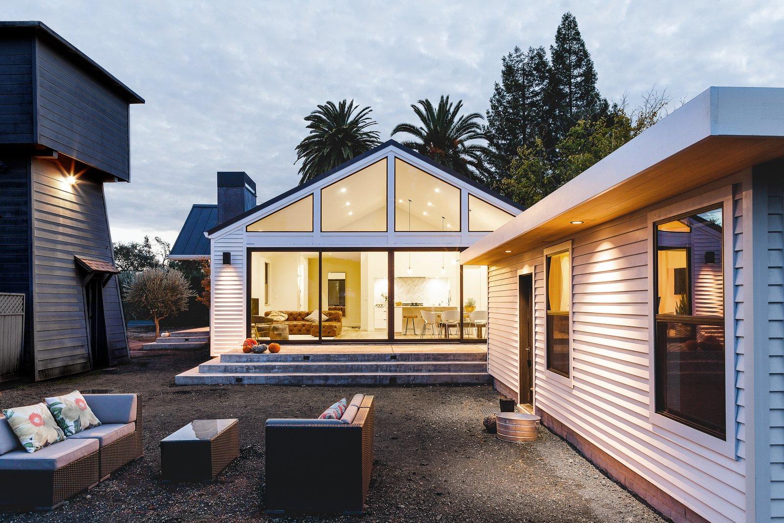 Sonoma Farmhouse Modern Home In Sonoma California By