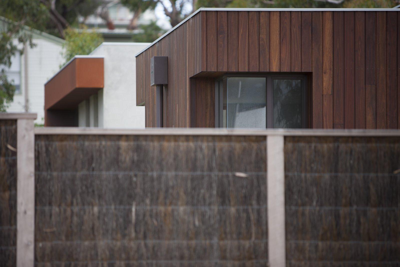 Brush Panel Fence  Pod Residence by Bespoke Architects