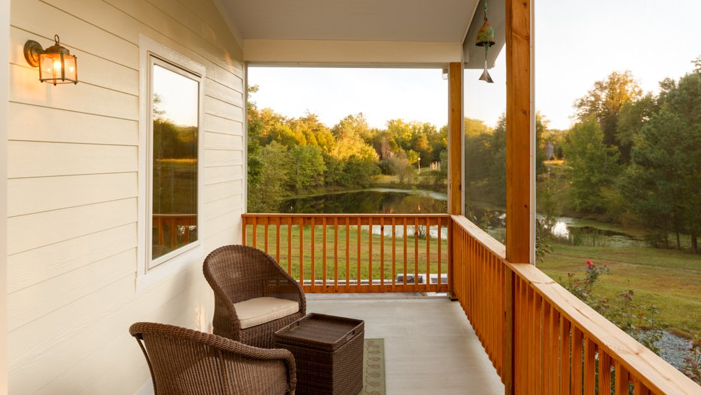 Awesome view from a net-zero Deltec Home #prefab #netzero #curbapeal #deltechomes  Net-Zero Prefab Home by Deltec Homes