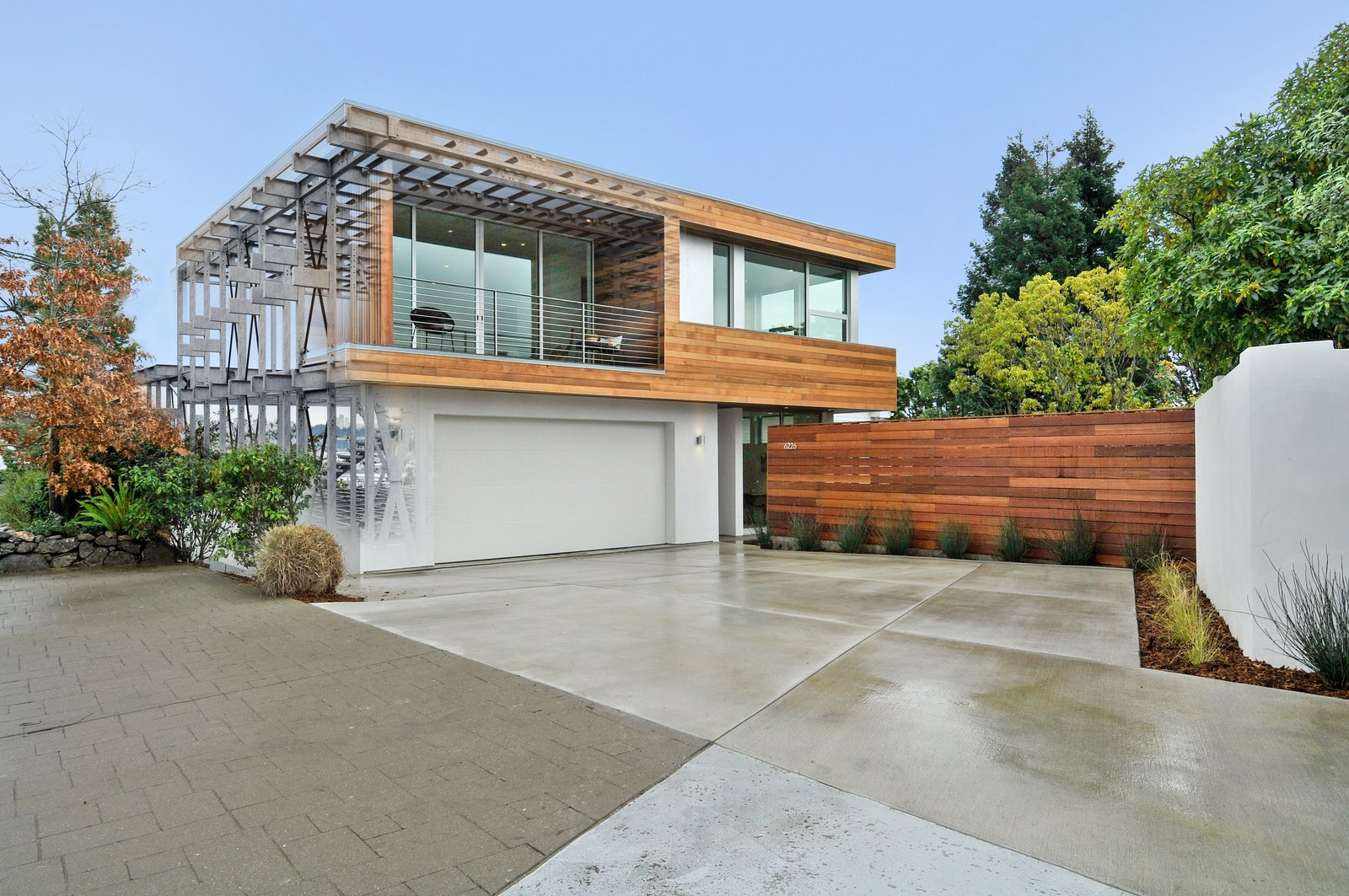 Outdoor, Pavers Patio, Porch, Deck, and Concrete Patio, Porch, Deck The Acacia Residence featuring the BONE Structure building technology  Acacia Residence by BONE Structure