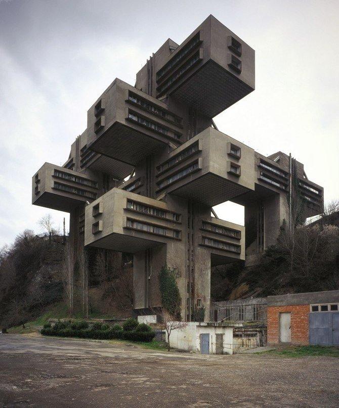 Roads Ministry, Tbilisi, Georgia-1975  Brutes
