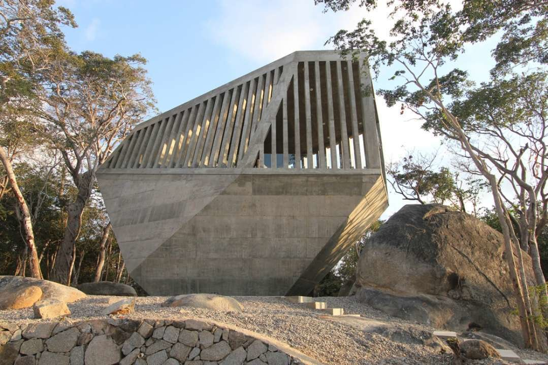 Sunset Chapel by Bunker Arquitectura, Guerrero, Mexico  Brutes
